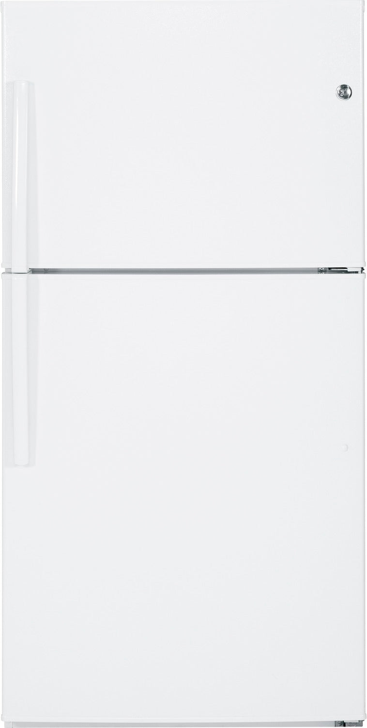 GE White TOP-FREEZER REFRIGERATOR (21.2 CU. FT.) - GTE21GTHWW
