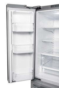 Samsung Stainless Steel French Door Refrigerator (21.6 Cu. Ft.) - RF220NCTASR