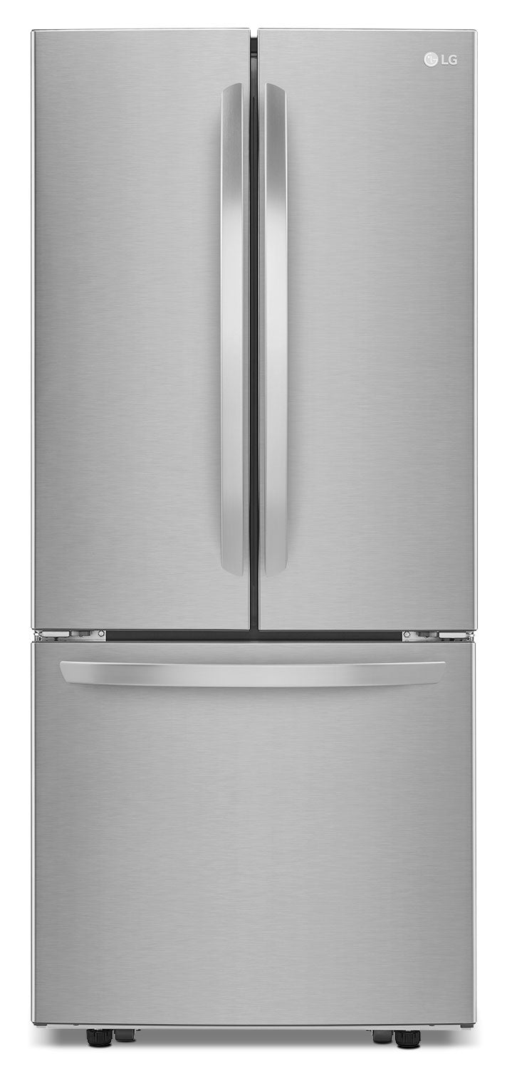 LG Stainless Steel French Door Refrigerator (21.8 Cu. Ft.) - LFNS22520S