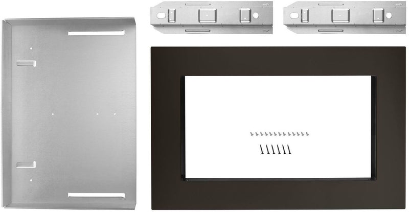 "Whirlpool Black Stainless Steel 27"" Microwave Trim Kit  - MK2167AV"