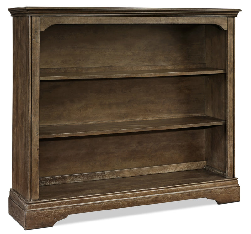 Riley Hutch Bookcase - Almond