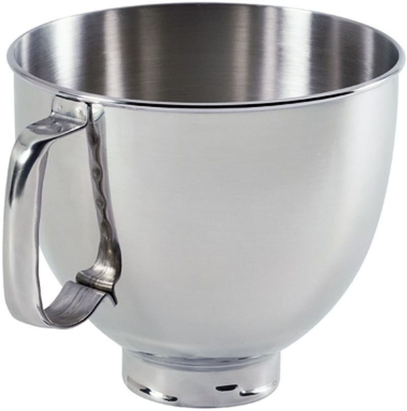 KitchenAid Polished Stainless Steel 5-Quart Tilt-Head Bowl - K5THSBP