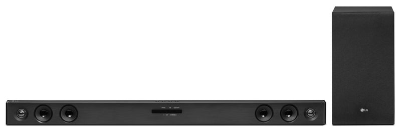 LG 2.1-Ch. 300W Sound Bar with Wireless Subwoofer - SJ3