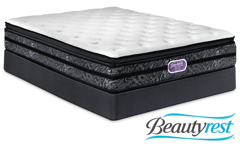 Simmons Beautyrest Ultra Trenton Plush Queen Mattress and Boxspring Set