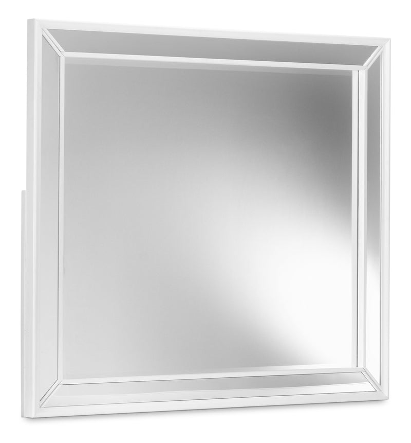 Arctic Ice Mirror - White