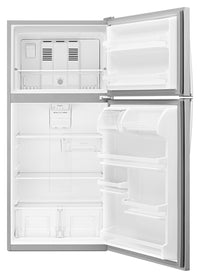 Whirlpool Stainless Steel Top-Freezer Refrigerator (18.2 Cu. Ft.) - WRT318FZDM
