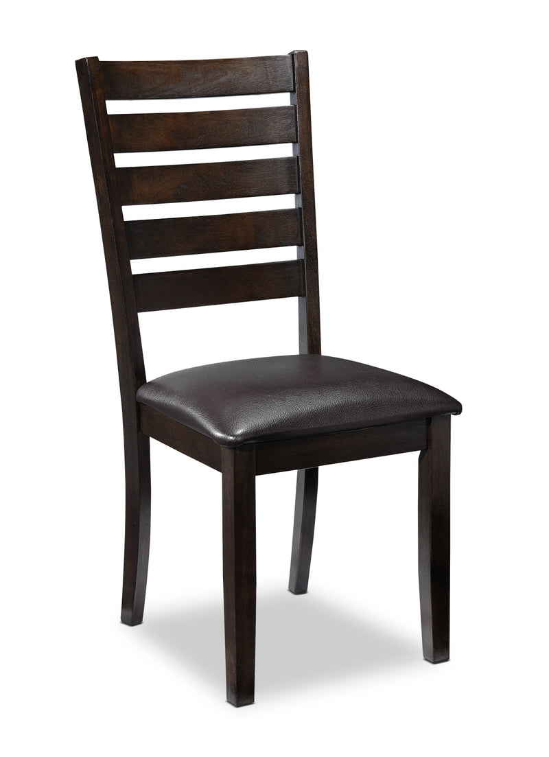 Krista Side Chair - Brown