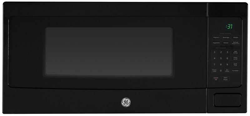GE Profile Black Spacemaker Countertop Microwave (1.1 Cu. Ft.) - PEM10BFC