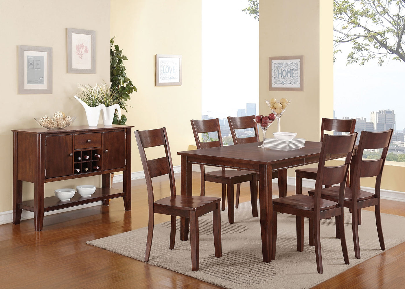 Holland Dining Table Espresso Leon S