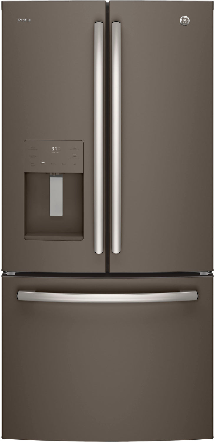 GE Profile Slate French Door Refrigerator (23.8 Cu. Ft.) - PFE24JMKES