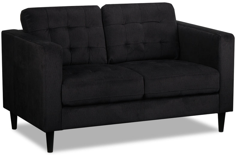 Anthena Loveseat - Charcoal