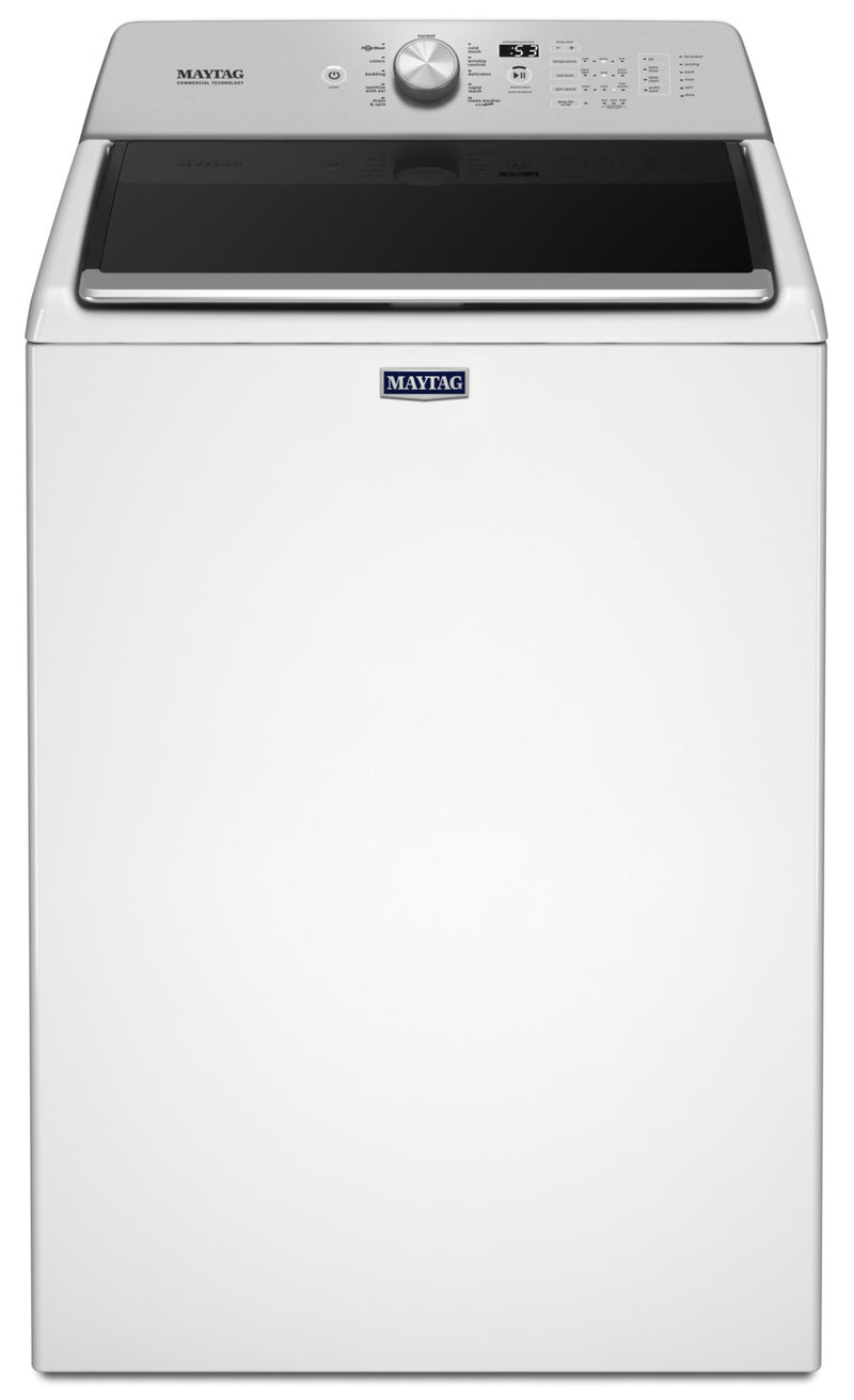 Maytag White Top-Load Bravos Washer (5.4 Cu. Ft. IEC) - MVWB765FW