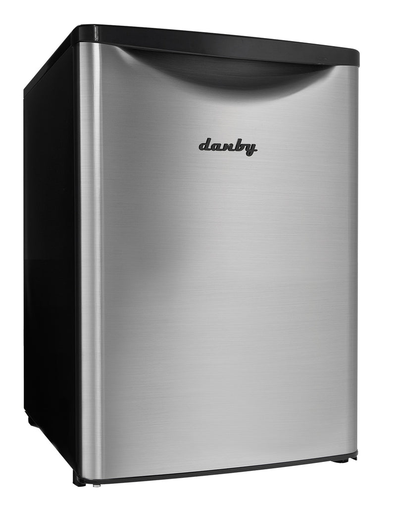 Danby Stainless Steel Compact Refrigerator (2.6 Cu. Ft.) - DAR026A2BSLDB