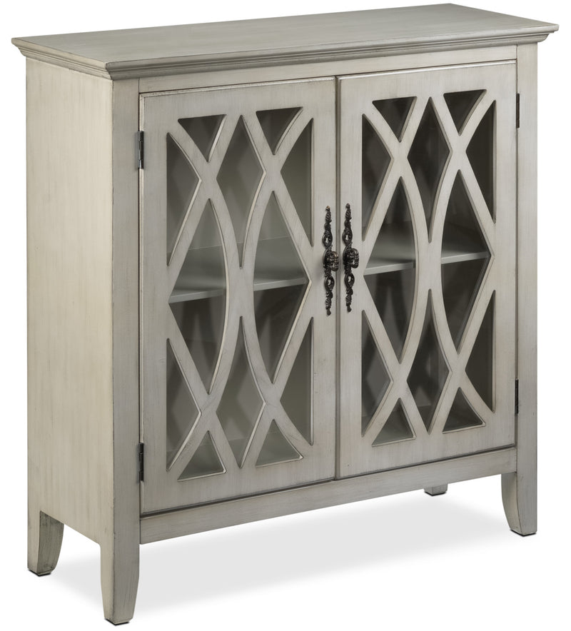 Glennon Accent Cabinet - Weathered White