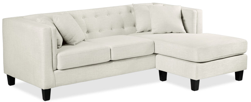 Astin Chaise Sofa - Wheat