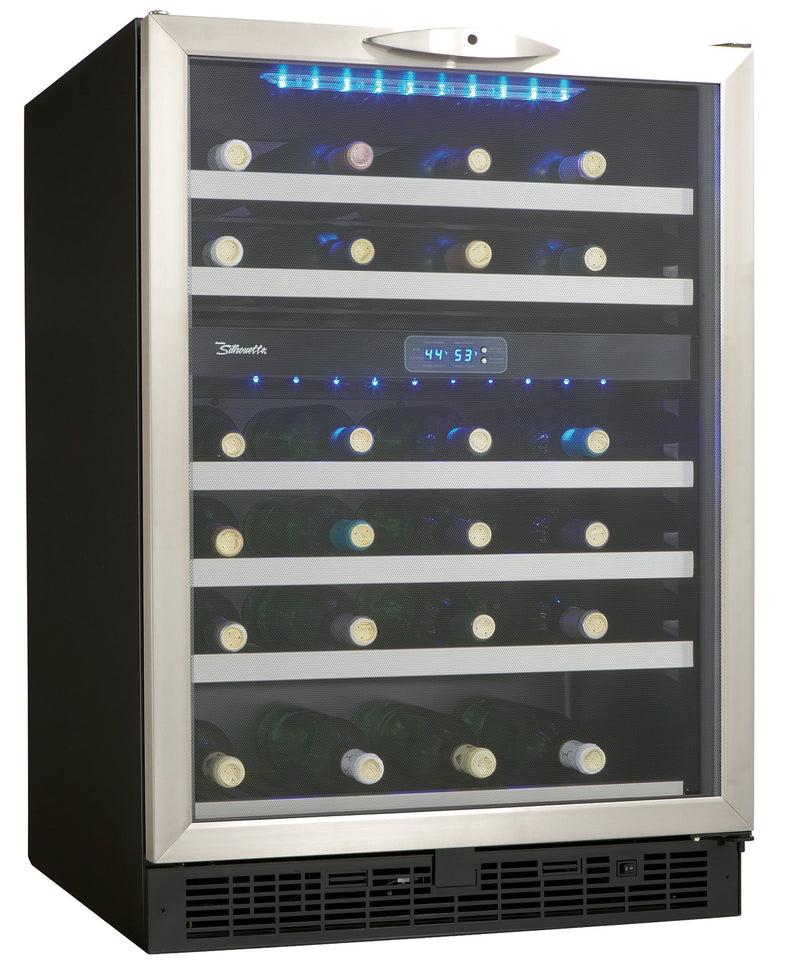 Danby Stainless Steel Dual-Zone Wine Cooler (5.4 Cu. Ft.) - DWC518BLS