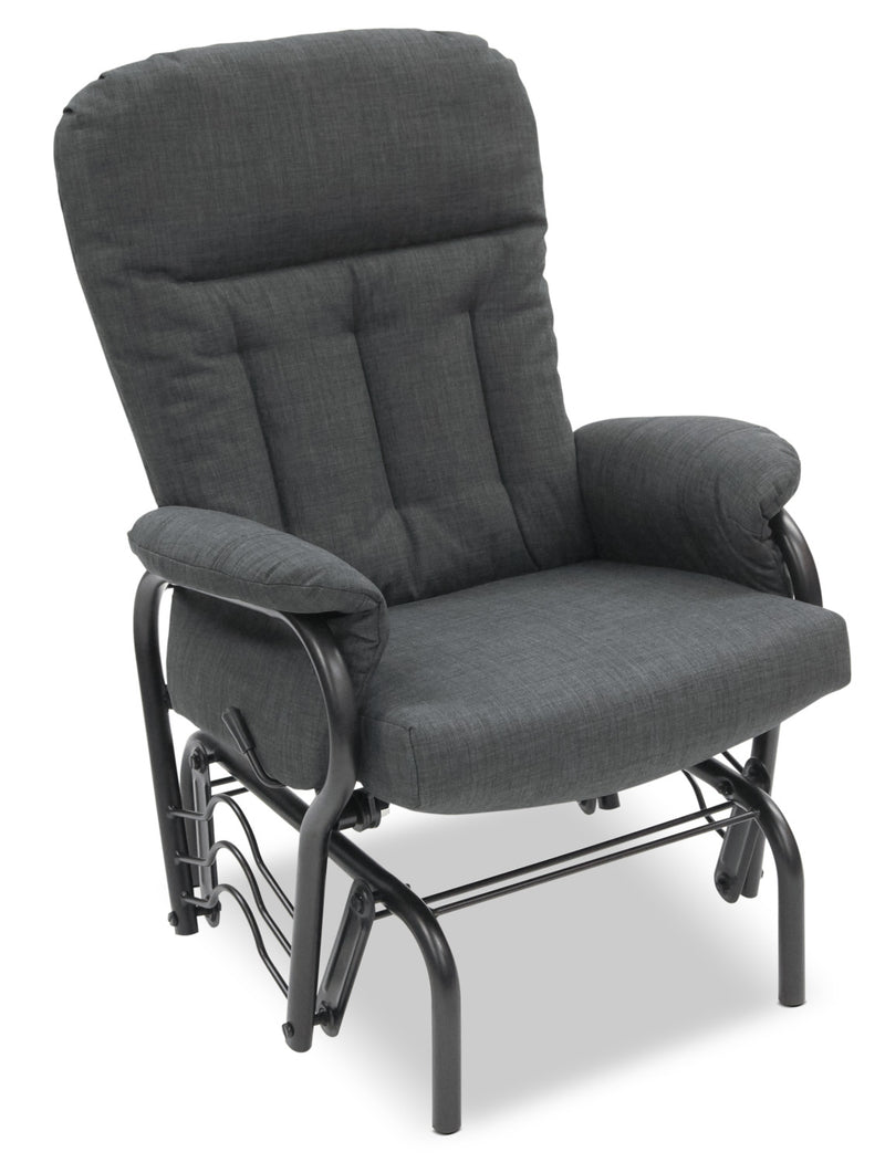 Carlin Glider Recliner - Black