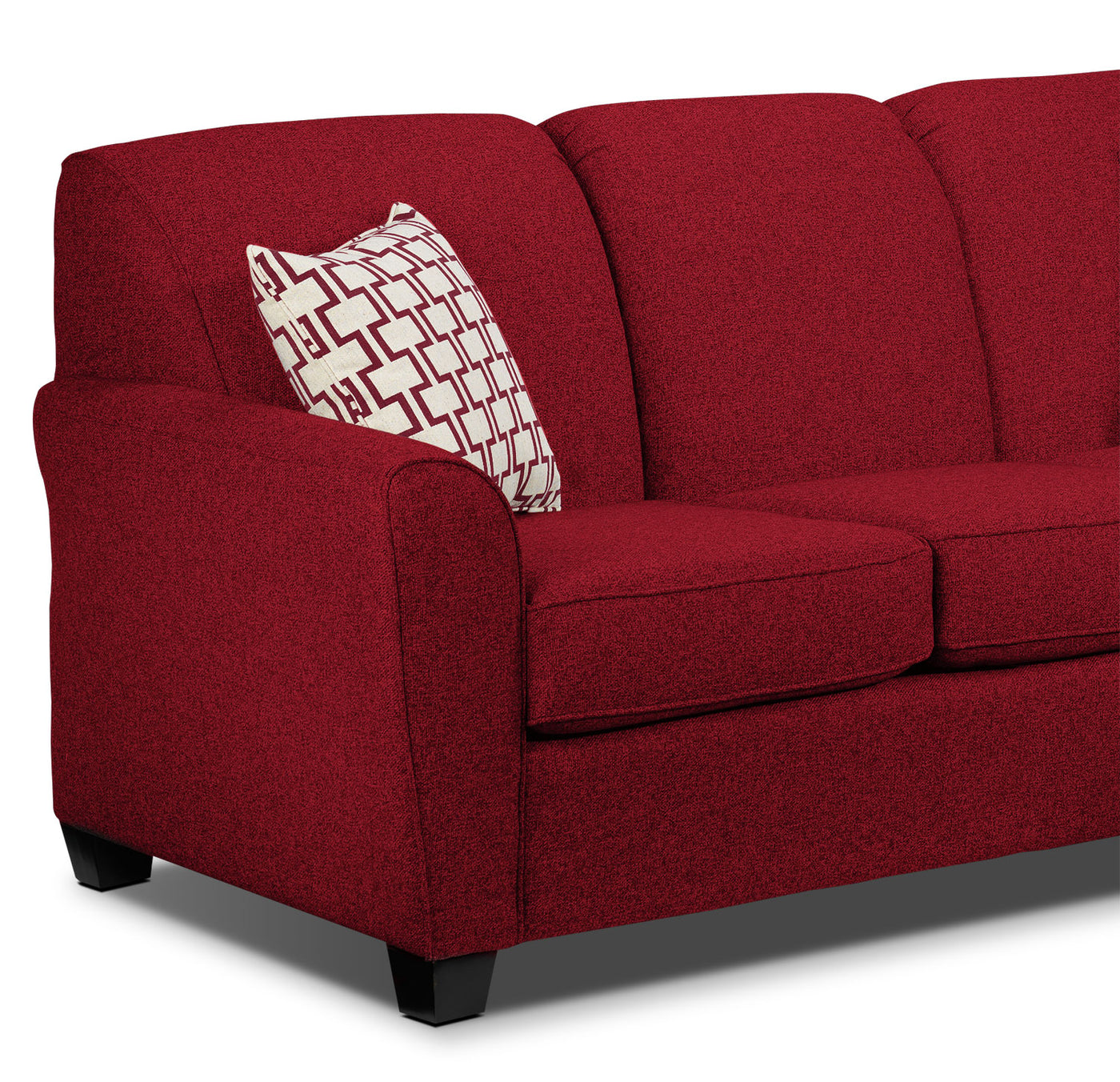 Enjoyable Ashby Chaise Sofa Red Andrewgaddart Wooden Chair Designs For Living Room Andrewgaddartcom