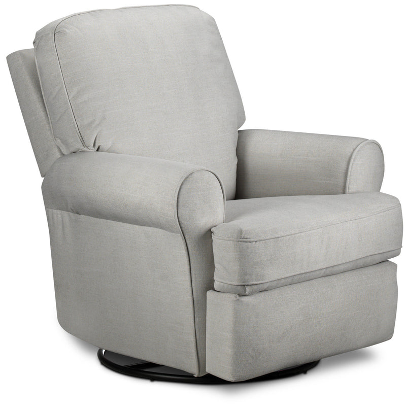 Gracie Swivel Glider Recliner - Dove