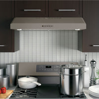 "GE Slate 30"" 310 CFM Under-the-Cabinet Range Hood - JVX5300EJESC"