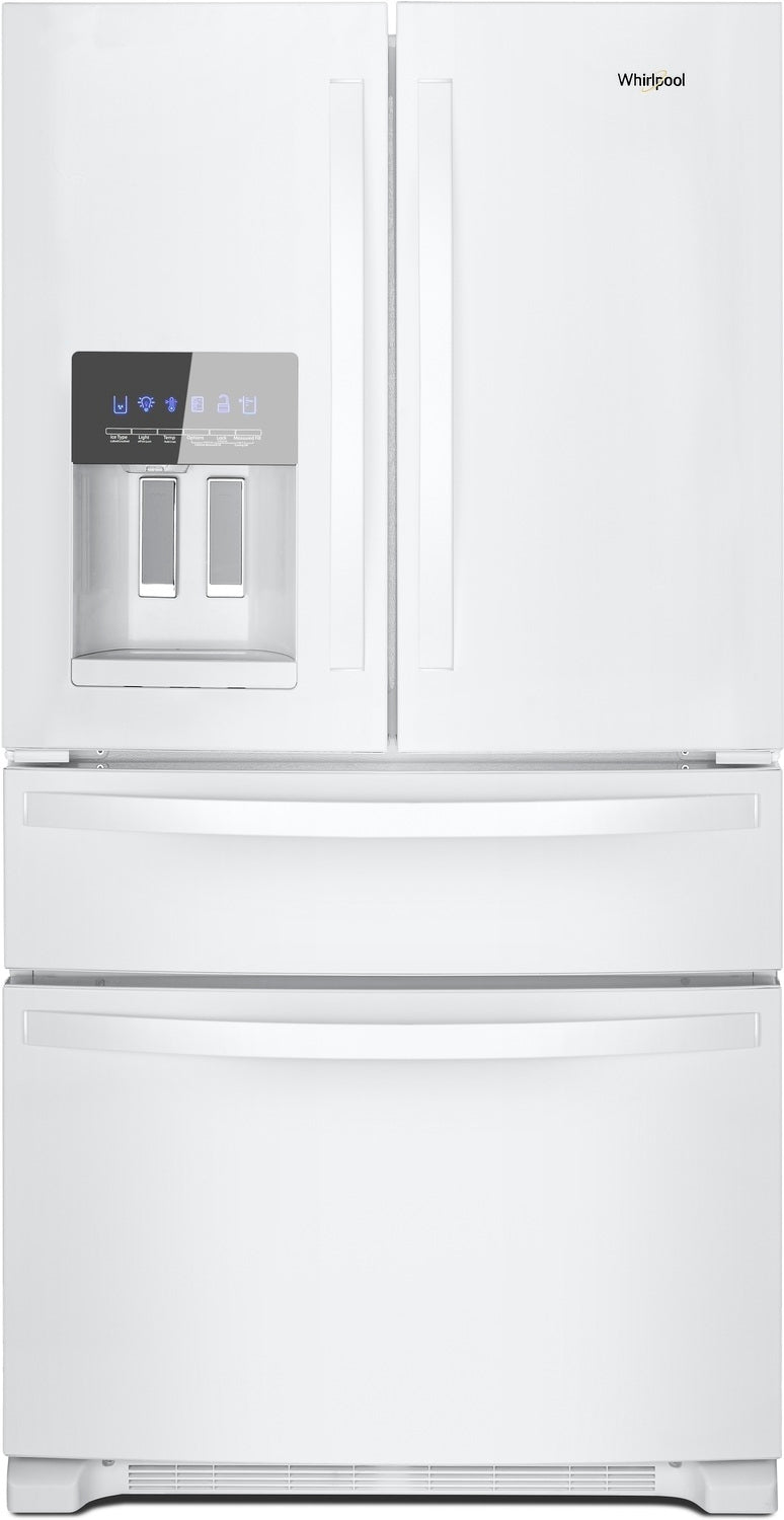 Whirlpool White French Door Refrigerator (25 Cu. Ft.) - WRX735SDHW