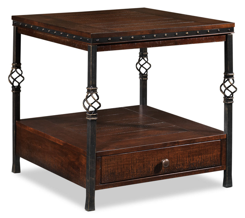 Sterling End Table - Walnut