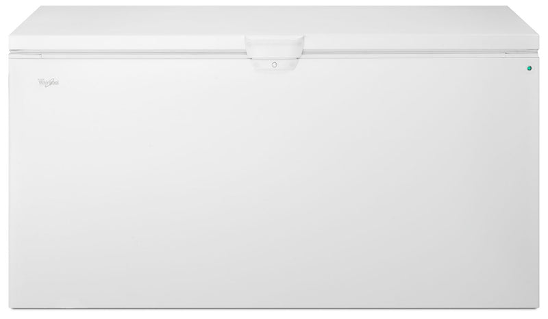 Whirlpool White Chest Freezer (21.7 Cu. Ft.) - WZC5422DW