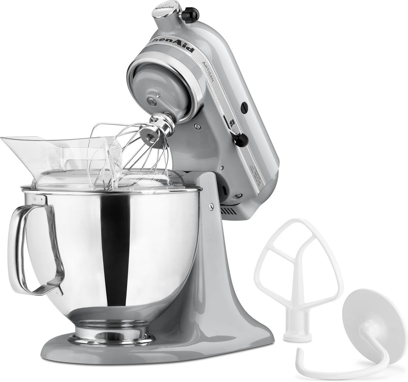 KitchenAid Metallic Chrome 5-Quart Tilt-Head Stand Mixer - KSM150PSMC