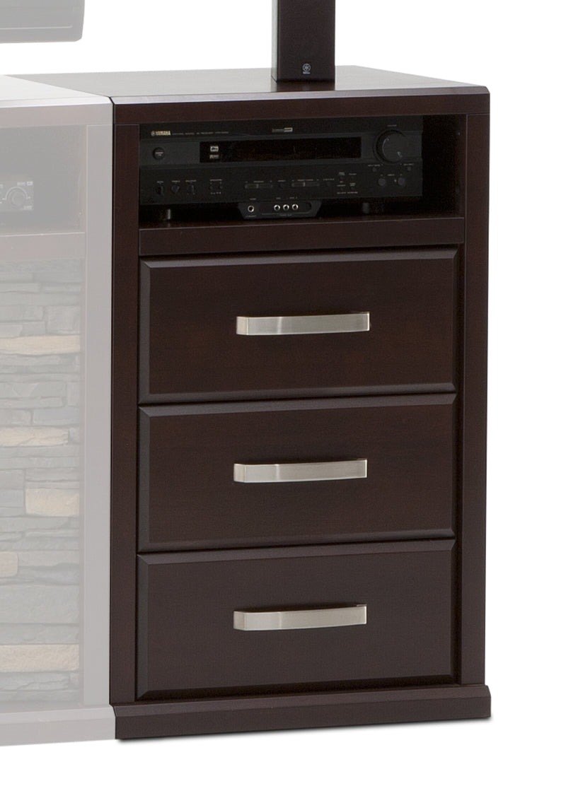 Gamble Drawer Unit - Bordeaux