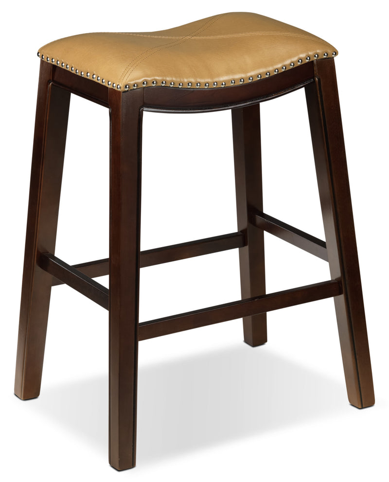 Texas Pub-Height Stool - Tan