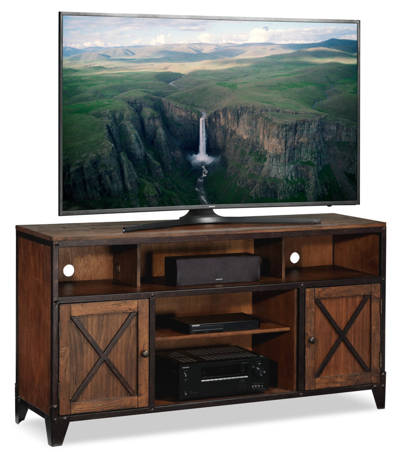 Pinebrook TV Credenza - Cinnamon