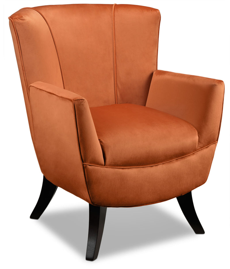 Bethany Accent Chair - Mandarin