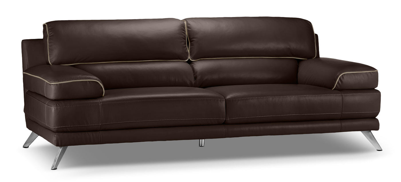Sutton Sofa   Walnut Brown. Touch To Zoom
