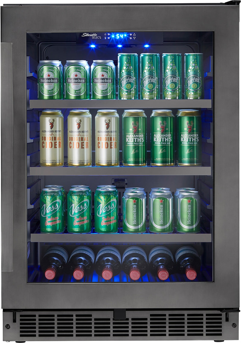 Danby Black Stainless Steel Beverage Centre (5.6 Cu. Ft.) - SSBC056D1B-S