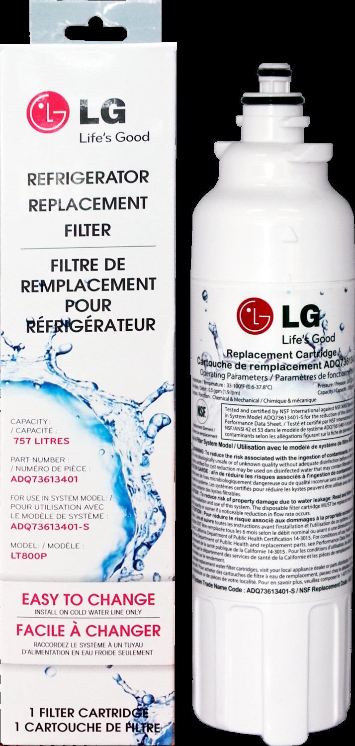 LG Appliances Water Filter - LT800P