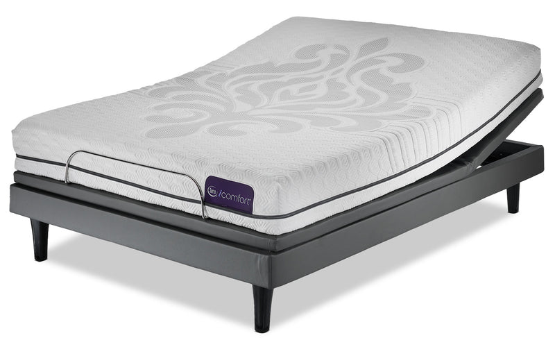 Serta iComfort Eco Levity Firm King Mattress and Motion Perfect III Complete Adjustable Base Set