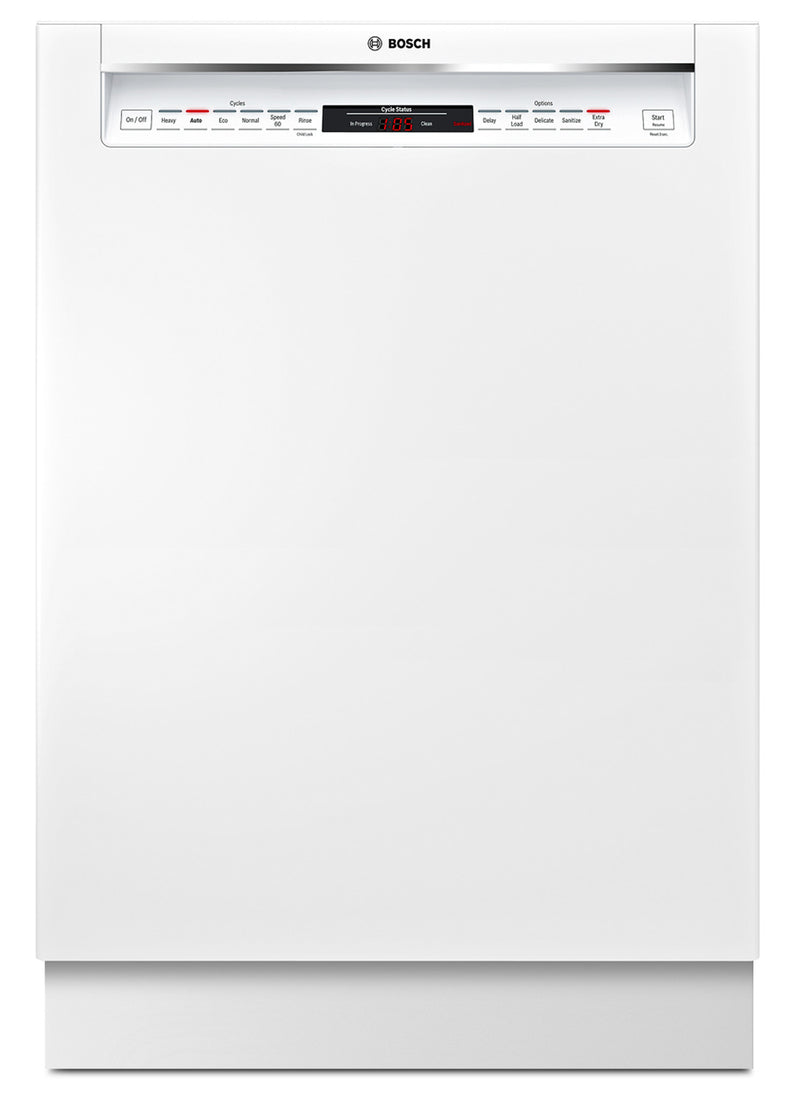 "Bosch White 24"" Dishwasher - SHEM78W52N"