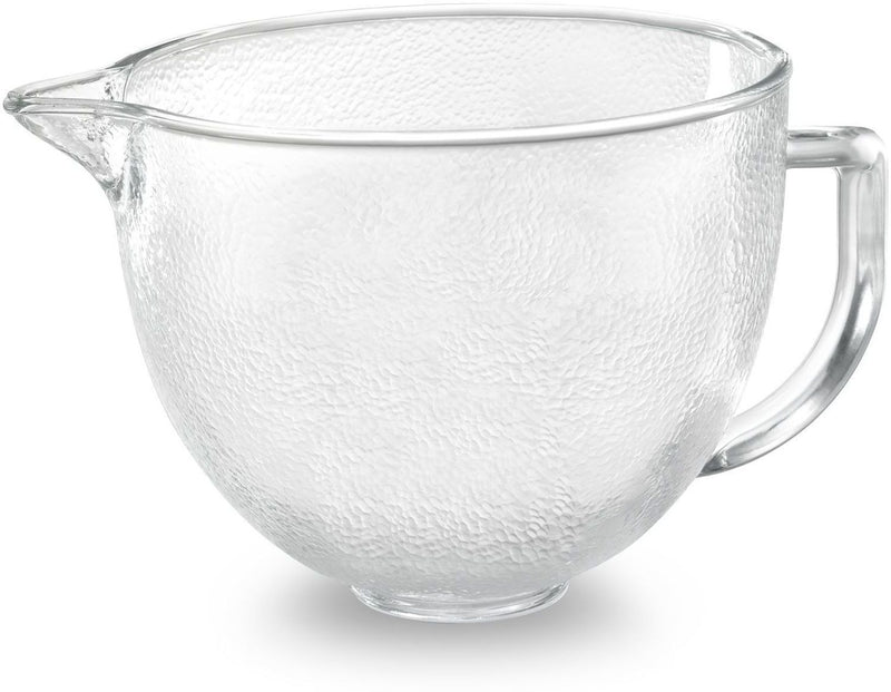 KitchenAid 5-Quart Tilt-Head Hammered Glass Bowl - K5GBH