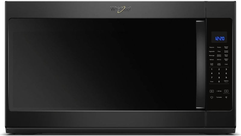 Whirlpool Black Over-the-Range Microwave (2.1 Cu. Ft.) - YWMH53521HB