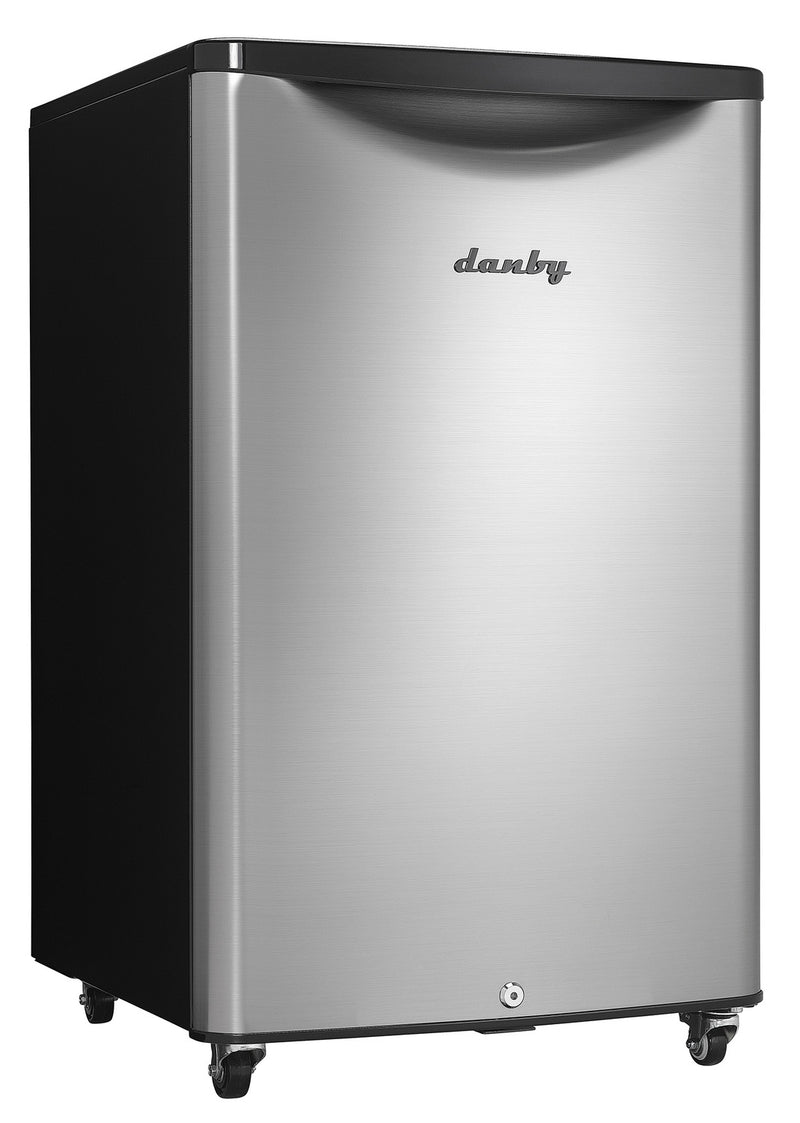 Danby Stainless Steel Outdoor Compact Refrigerator (4.4 Cu. Ft.) - DAR044A6BSLDBO