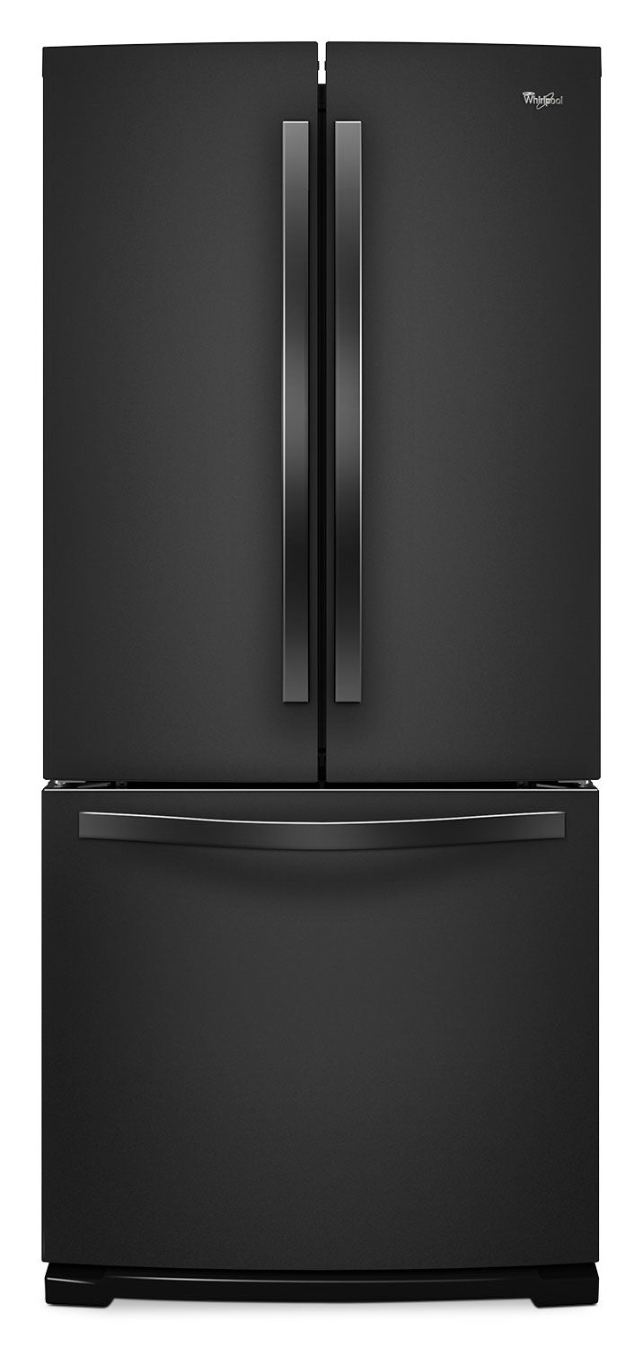 Whirlpool Black French Door Refrigerator (19.5 Cu. Ft.) - WRF560SFYB