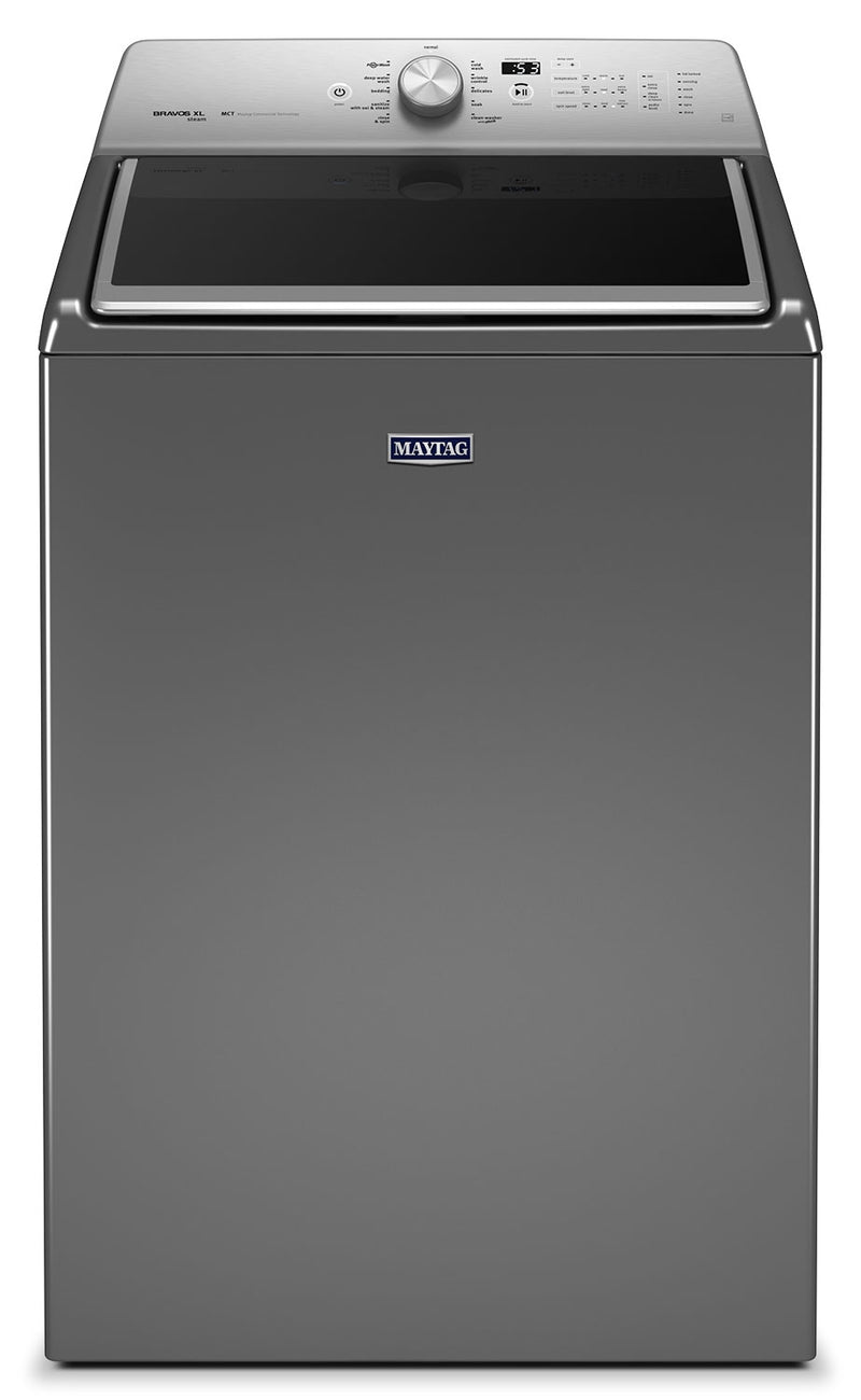 Maytag Metallic Slate Top-Load Washer (6.1 Cu. Ft. IEC) - MVWB855DC