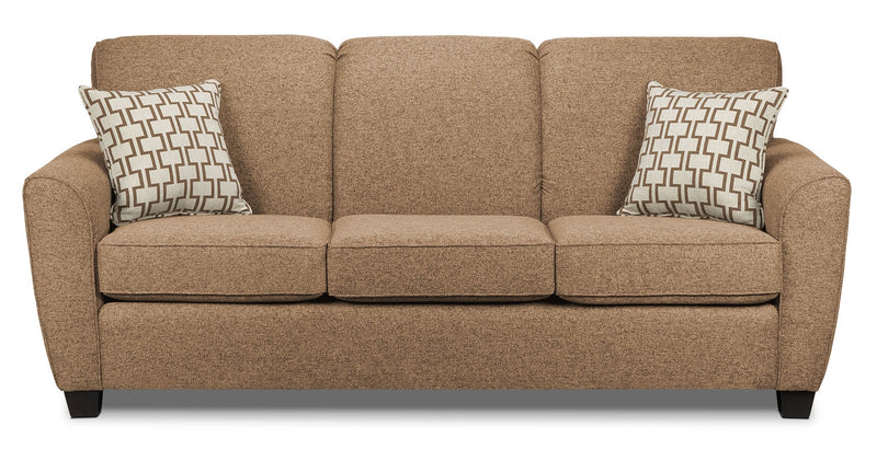 Ashby Queen Sofa Bed Sand Leon S