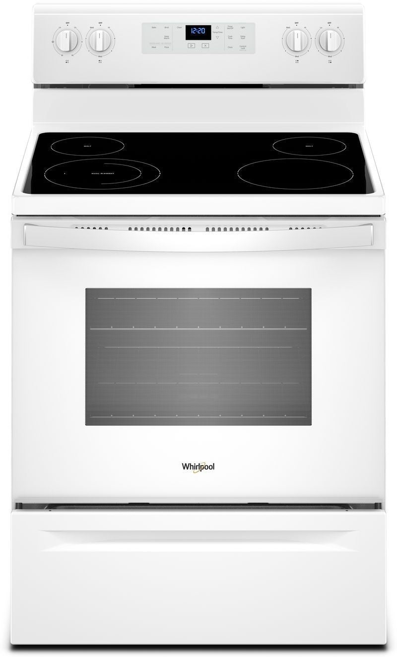 Whirlpool White Freestanding Electric Range (5.3 Cu. Ft.) - YWFE510S0HW