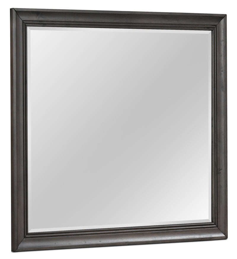 Lexington Mirror - Weathered Grey