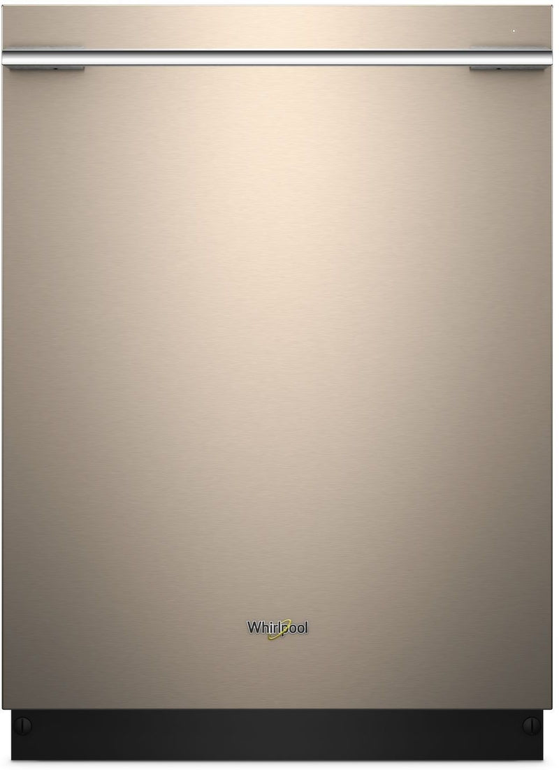"Whirlpool Sunset Bronze 24"" Dishwasher - WDTA75SAHN"