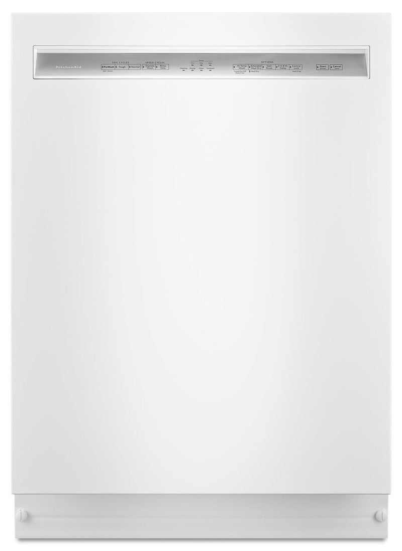 "KitchenAid White 24"" Dishwasher - KDFE104HWH"
