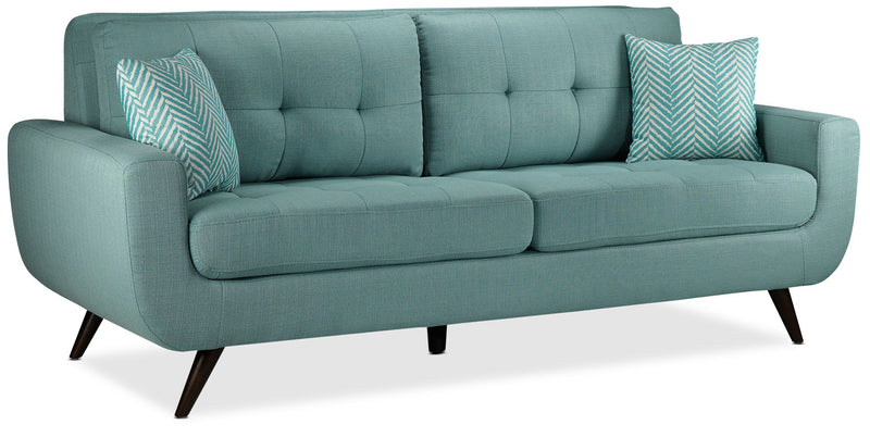 Julian Sofa And Chair Set Teal Leon S