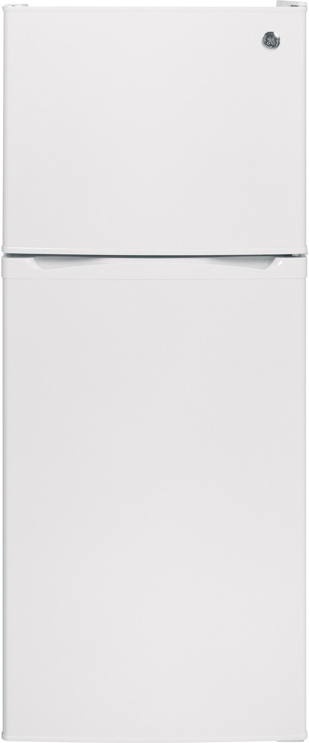GE White Top-Freezer Refrigerator (11.55 Cu. Ft.) - GPE12FGKWW