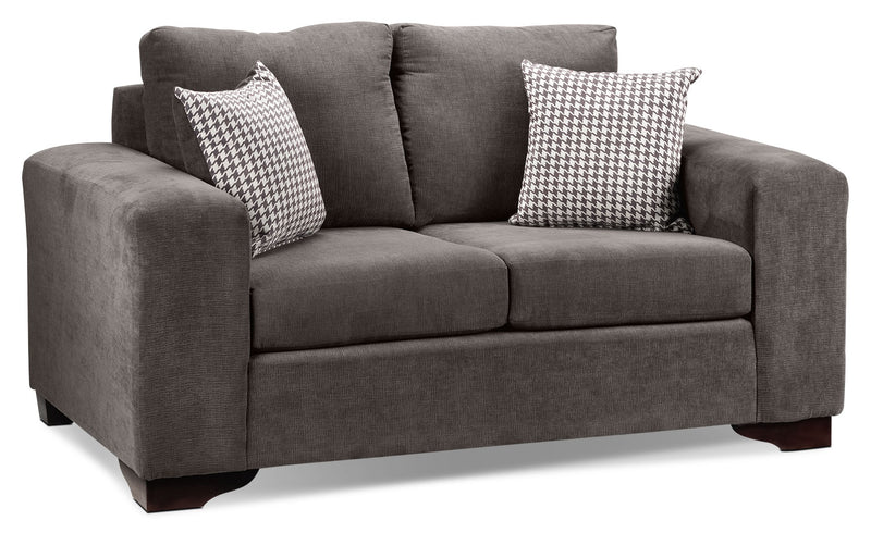 Fava Loveseat - Grey